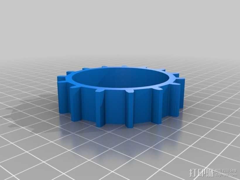 弹性PLA材料测试 3D模型  图3