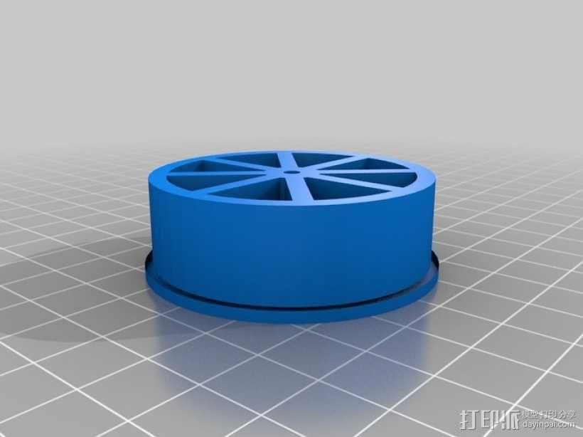 弹性PLA材料测试 3D模型  图4