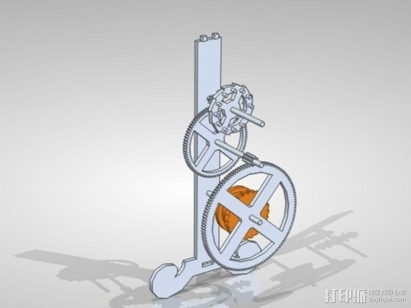 伽利略的摆钟 3D模型  图4