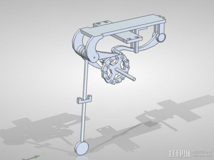 伽利略的摆钟 3D模型  图2