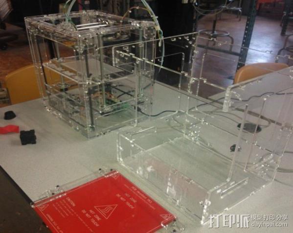 Ultra-Bot 3D打印机 3D模型  图2