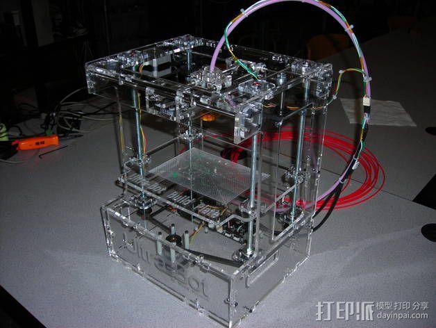 Ultra-Bot 3D打印机 3D模型  图4
