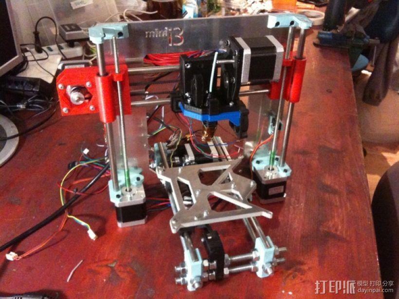 迷你 Prusa i3打印机 3D模型  图1