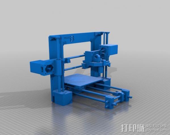迷你 Prusa i3打印机 3D模型  图4