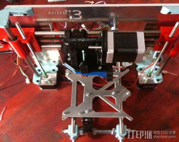 迷你 Prusa i3打印机 3D模型  图3