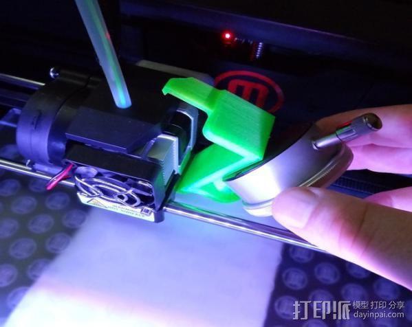 刻度盘指示器支架 3D模型  图3