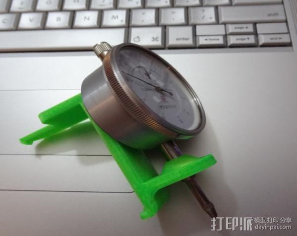 刻度盘指示器支架 3D模型  图4