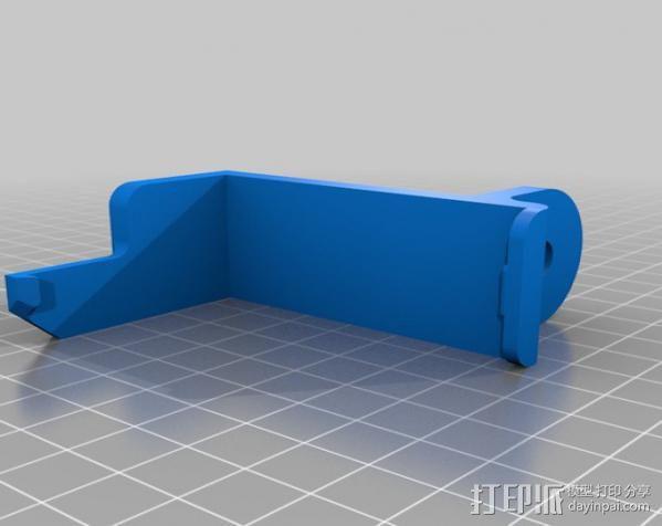 刻度盘指示器支架 3D模型  图7