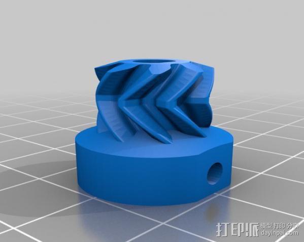 Ultimaker 打印机送料器齿轮 3D模型  图5