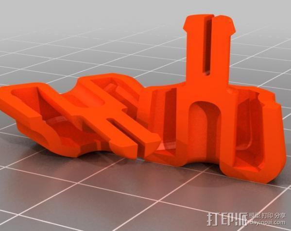 Ultimaker 打印机送料器齿轮 3D模型  图10