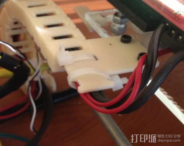 电缆锚链 3D模型  图3