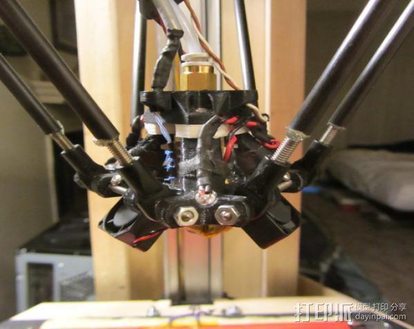 探针头 自动调平器 3D模型  图2