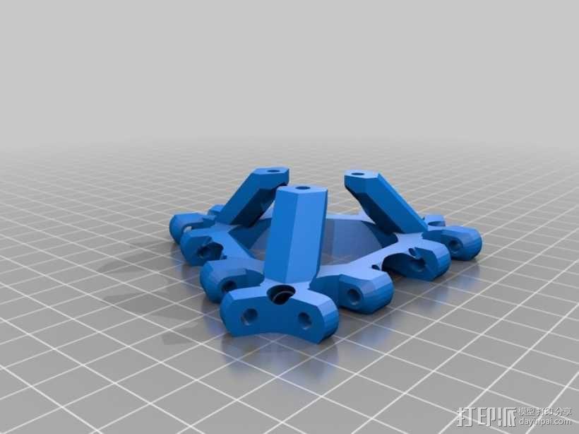 探针头 自动调平器 3D模型  图4