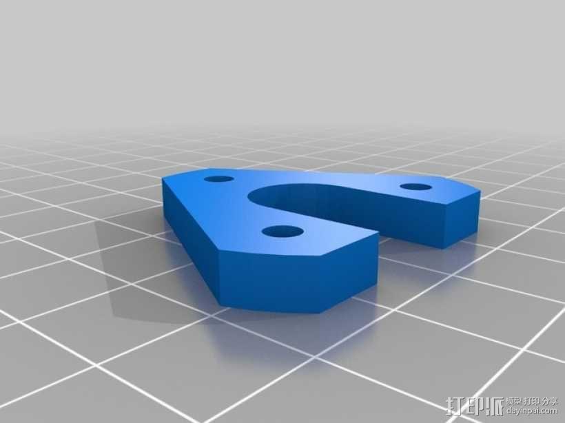 探针头 自动调平器 3D模型  图6