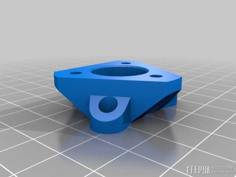 探针头 自动调平器 3D模型  图5
