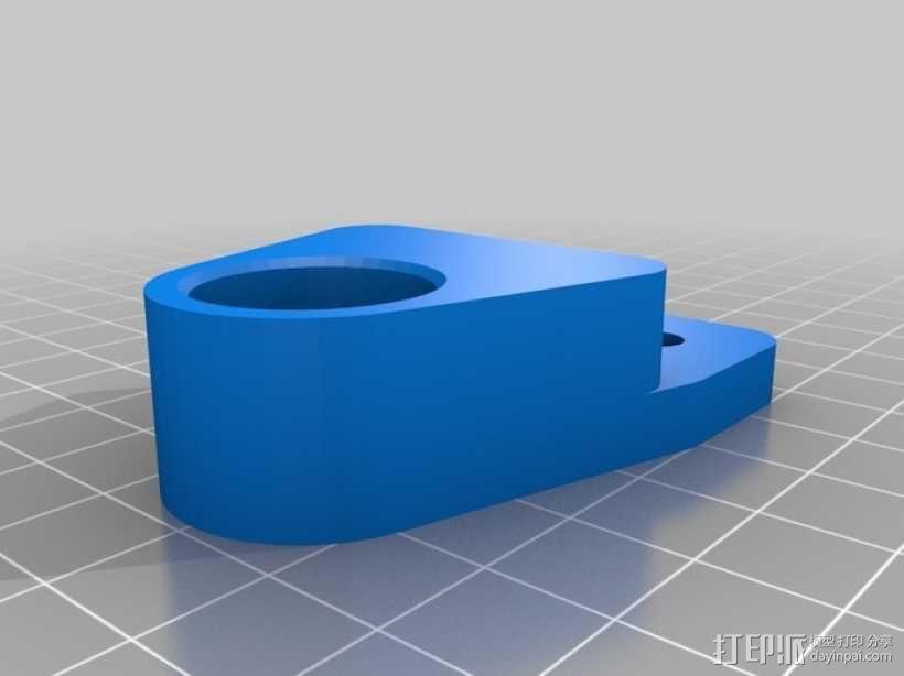 打印机拐角连接器 3D模型  图5