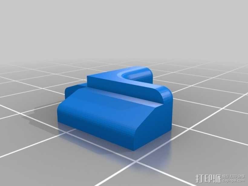 打印机拐角连接器 3D模型  图6
