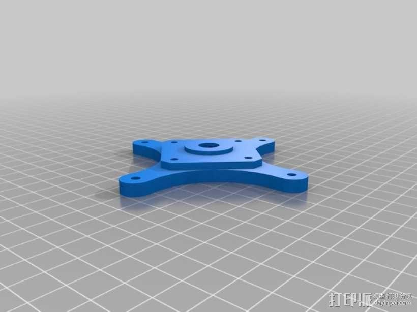 挤出机齿轮 行星齿轮 3D模型  图1