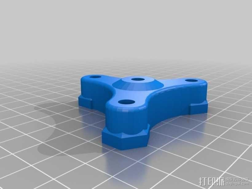 挤出机齿轮 行星齿轮 3D模型  图2