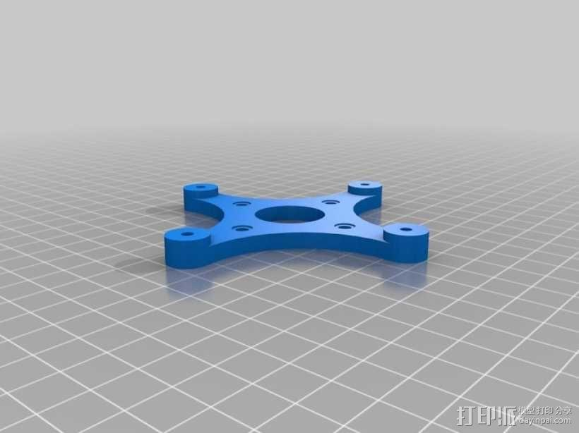 挤出机齿轮 行星齿轮 3D模型  图4