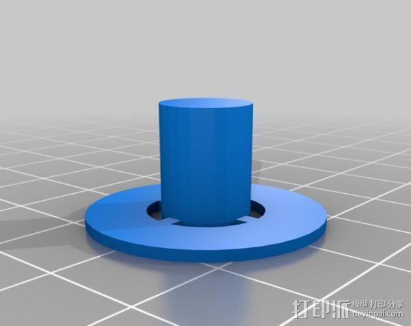 齿轮挤出机 3D模型  图6