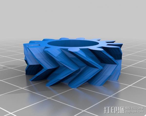 齿轮挤出机 3D模型  图10