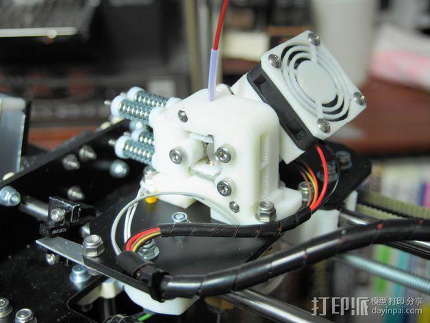 直线驱动挤出机 3D模型  图6