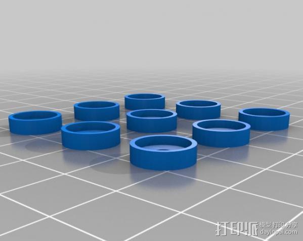 直线驱动挤出机 3D模型  图9