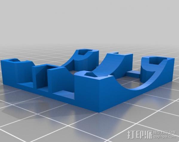 直线驱动挤出机 3D模型  图8