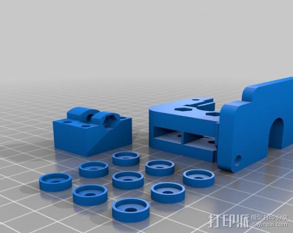 直线驱动挤出机 3D模型  图11
