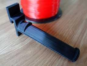 线轴支撑架 3D模型