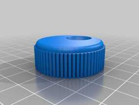 控制器旋钮 3D模型
