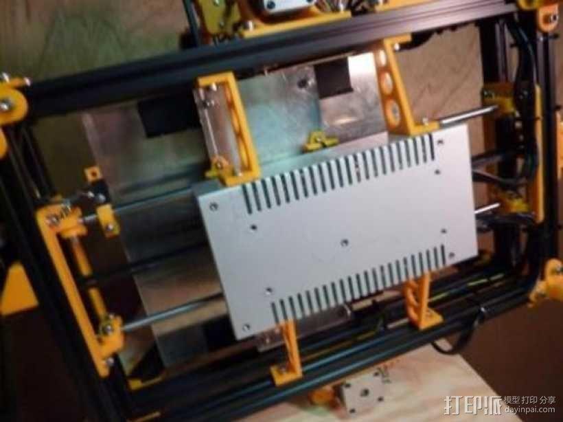 电源外壳 电源支架 3D模型  图1