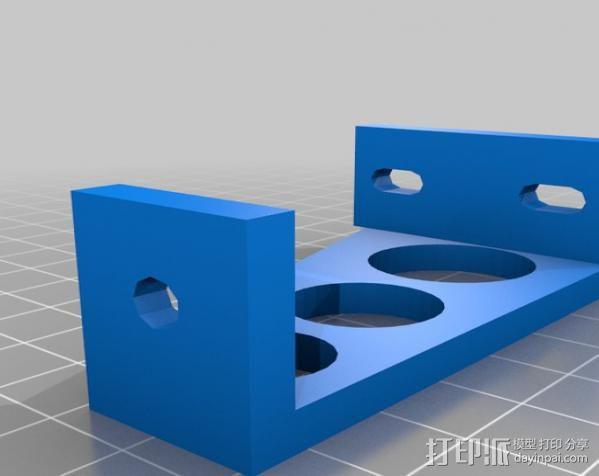 电源外壳 电源支架 3D模型  图2