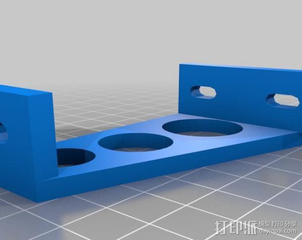 电源外壳 电源支架 3D模型  图3