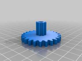 减速齿轮 3D模型
