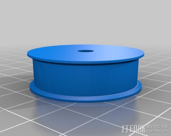 减速齿轮 3D模型  图2