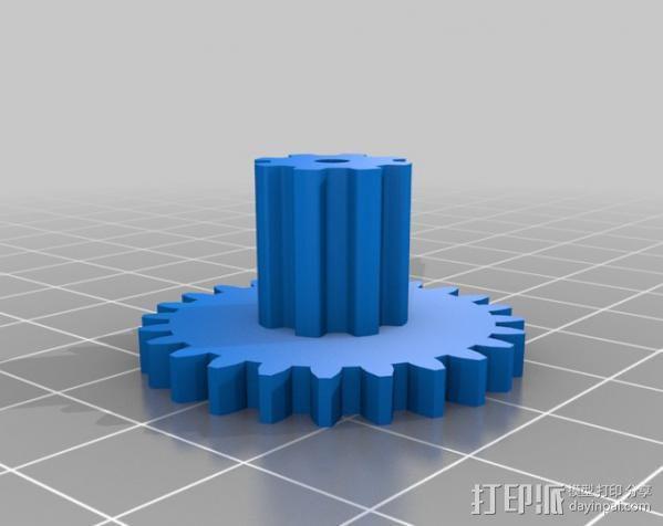 减速齿轮 3D模型  图5