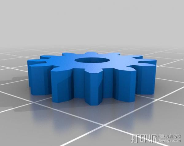 减速齿轮 3D模型  图6