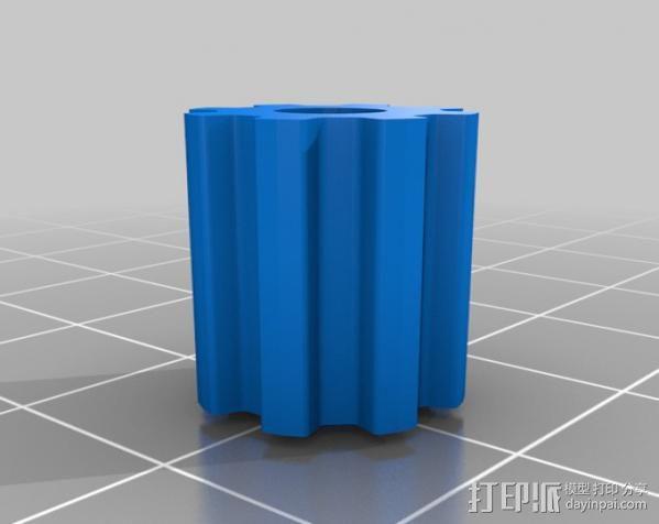 减速齿轮 3D模型  图7