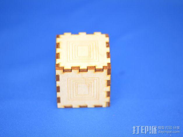 小方盒 3D模型  图3