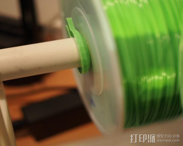线轴支撑架 3D模型  图6