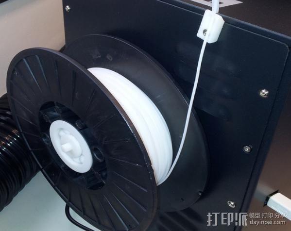 滚珠轴承线轴支架 3D模型  图4