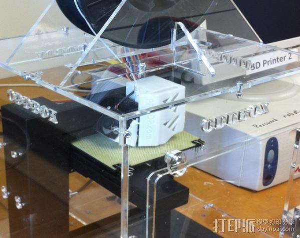 Up 3D打印机的外罩 3D模型  图3