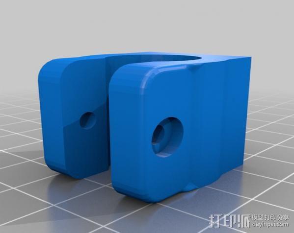 Mendel打印机Y轴部件 3D模型  图2