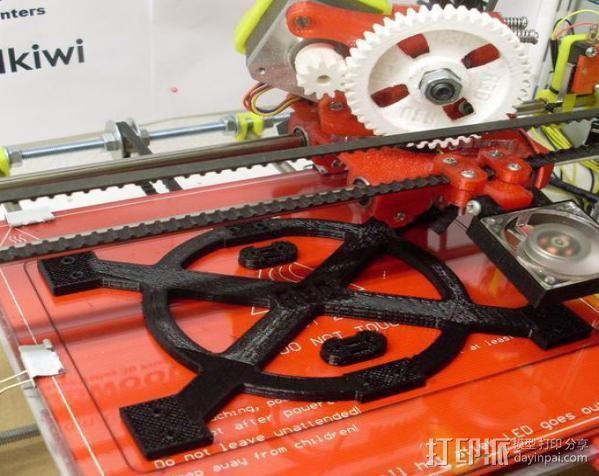 Mendel打印机Y轴部件 3D模型  图8