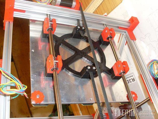 Mendel打印机Y轴部件 3D模型  图13