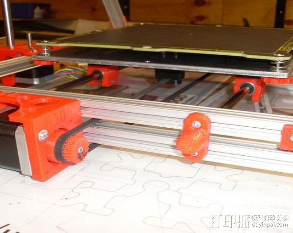 Mendel打印机Y轴部件 3D模型  图12