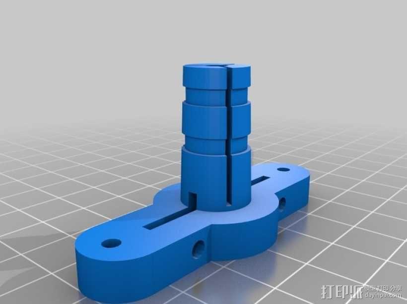 喷头支架 3D模型  图1