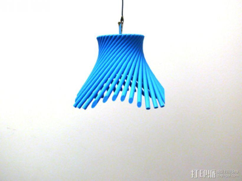 灯罩 花瓶 3D模型  图1